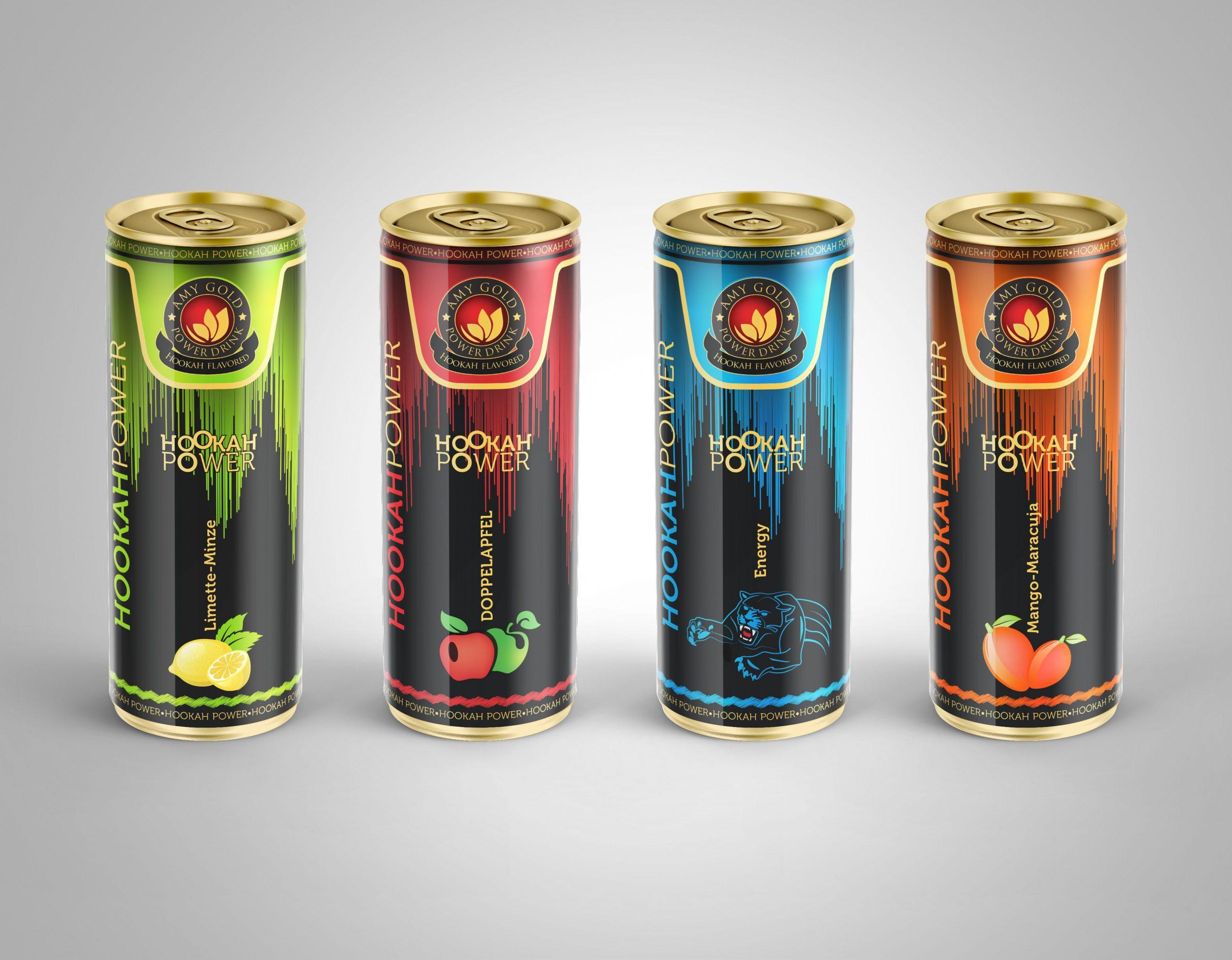 AMY GOLD – HOOKAH POWER DRINK