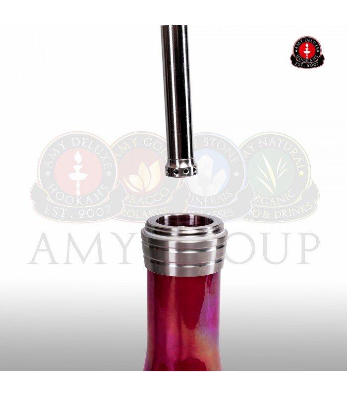 AMY  I Need You 038R Update- Mat zwart/Blauw