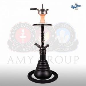 AMY 4STAR 420 – Mat Zwart / zwart