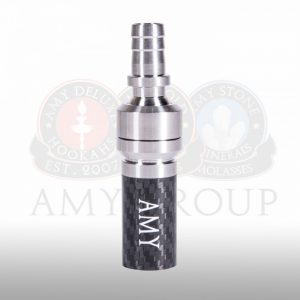 Amy Deluxe Carbon RVS universele adapter