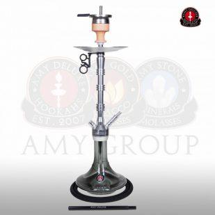 AMY Alu Lima 069.01 Zilver-Zwart