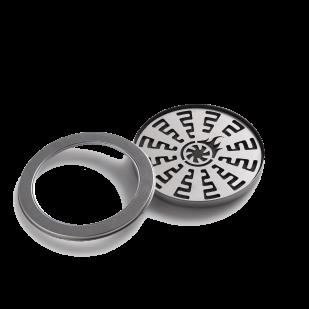 Shisha Turbine Roestvrij Stalen Kolenplaat (1,0 mm dik)